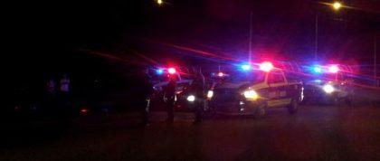 Unidades de varias corporaciones policiacas participaron en la persecución.