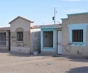 Viviendas abandonadas en San Luis.