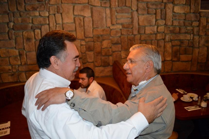 Se reúne RGM con Delegado en Sonora de la CORETT.