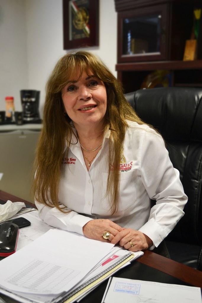 Enedina Haro Moreno.