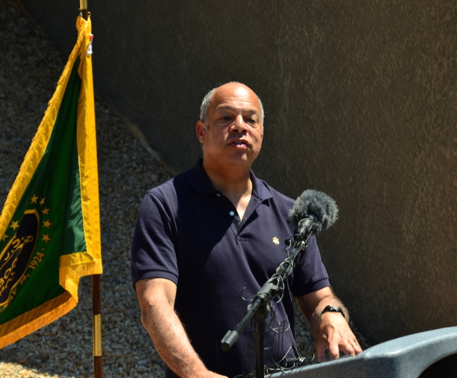 El Secretario de Seguridad Interna, Jeh Johnson.
