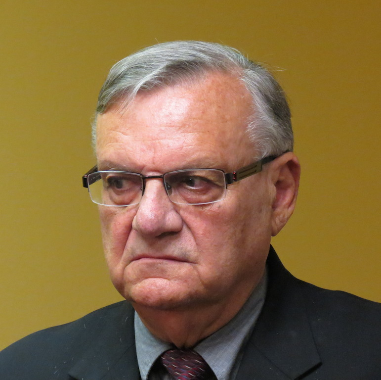 El sheriff Joe Arpaio.
