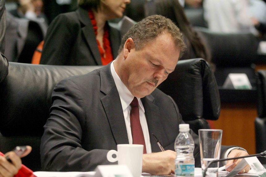 El senador sonorense Ernesto Gándara.