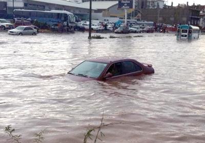 Resultado de imagen para foto de las calles inundidas de nogales sonora