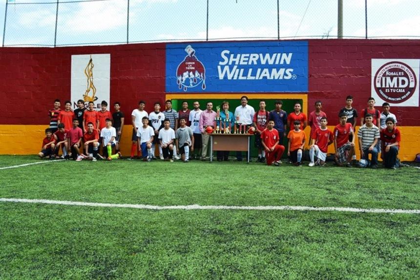 Realiza DIF Municipal torneo de futbol rápido para menores paqueteritos.