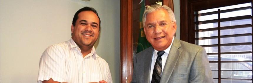Agradece Arinac apoyo del Presidente Ramón Guzmán