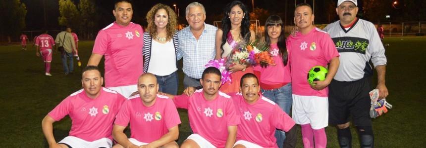 """Inaugura Alcalde torneo de futbol """"Por la Seguridad"""" (3)"""