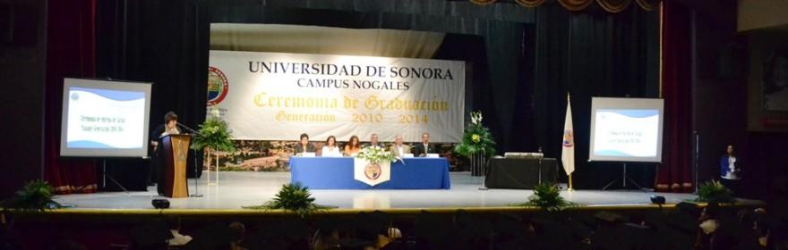 Participa Alcalde en graduación de la Universidad de Sonora generación 2010-2014 (1)