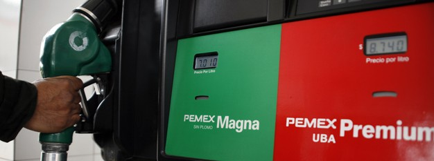 El motor el gas 52 sobre 92 gasolina