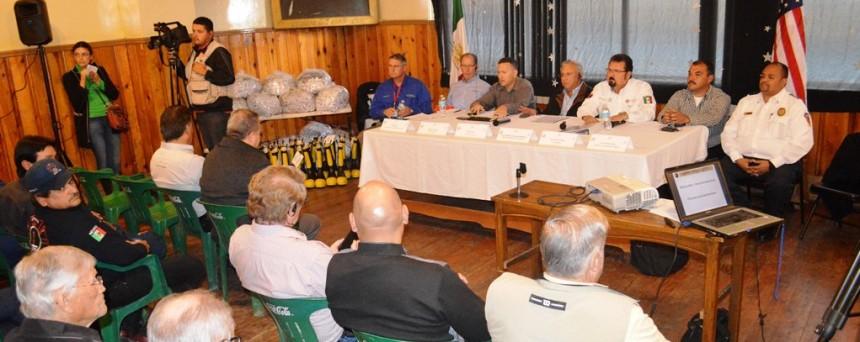 Asiste RGM a reunión de Frontera 2020 (2)