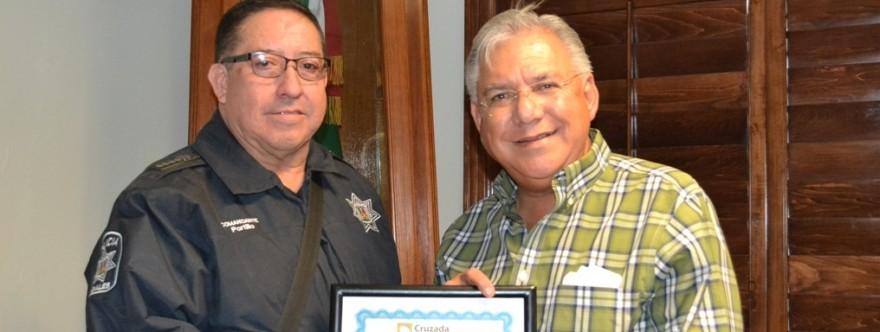 Reconocen por treceava ocasión a Nogales como una ciudad segura