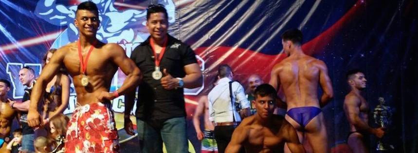 Destacan nogalenses en competencia de fisicocultirismo y fitness regional1