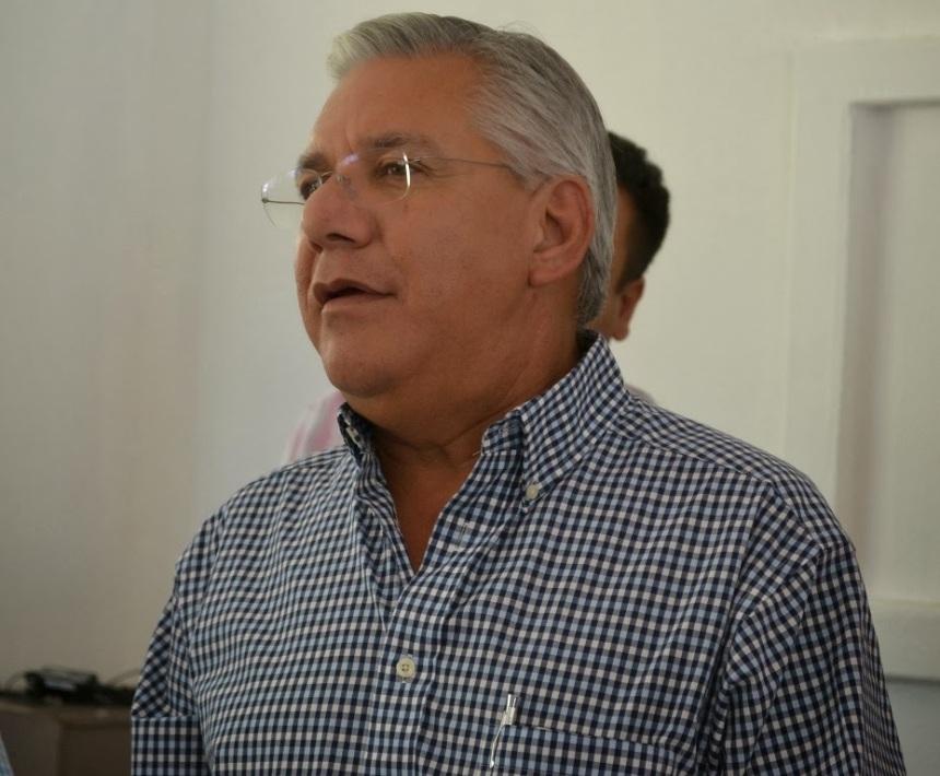 Alcalde Ramón Guzmán.