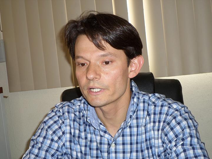 El doctor Jacobo Fox Inzunza, médico psiquiatra y encargado del Centro de Integración Juvenil de Nogales.