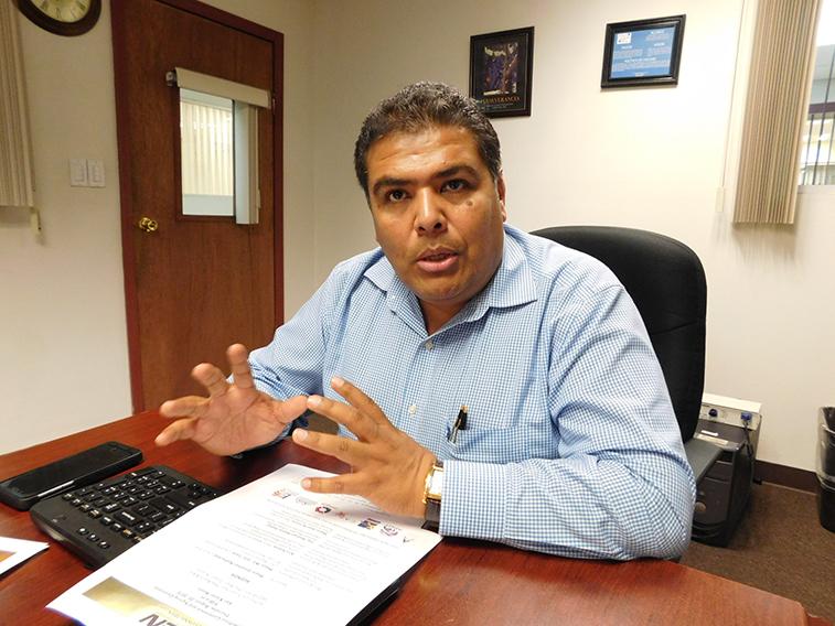 Hipólito Sedano Ruiz, presidente de la Canacintra.