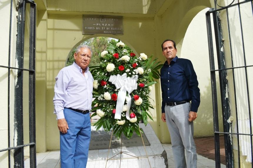 Conmemora Gobierno Municipal 2012-2015 el 97 aniversario de la Gesta Heroica.