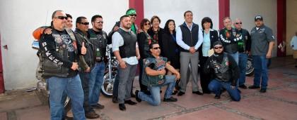 Entrega Alcalde y Nogales Bikers apoyos a instituciones de beneficiencia (4)
