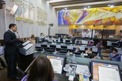 Sesión de pleno - Com. Social Congreso - LXI LEG - AFCES270616-128